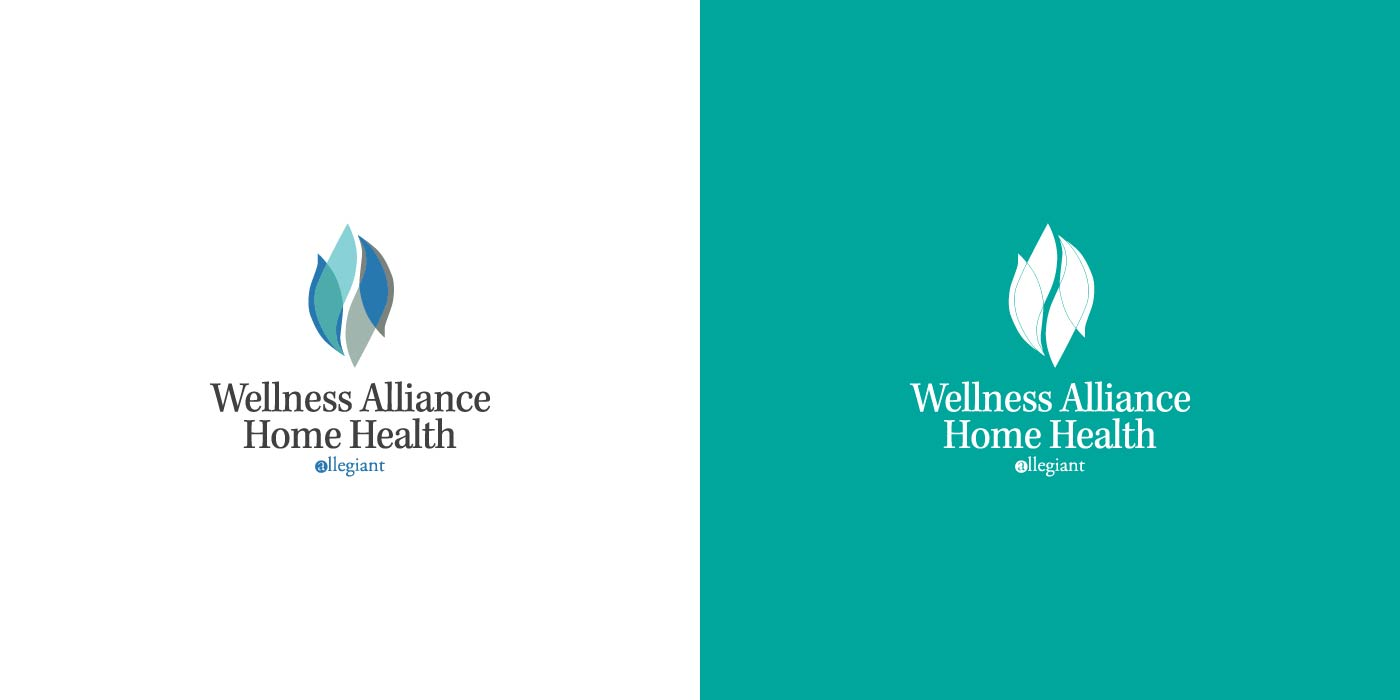 Wellness Alliance Home Health logo design