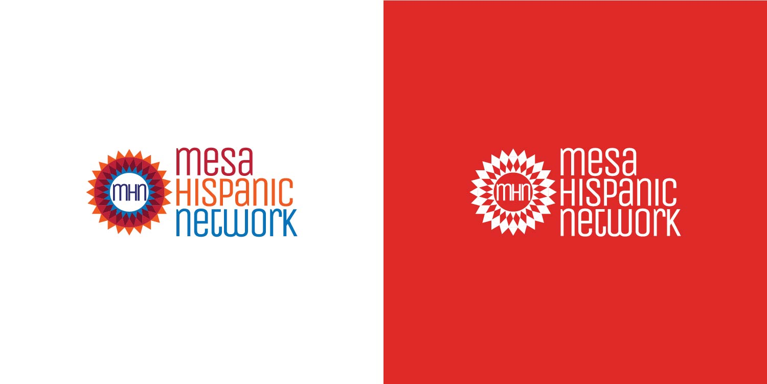 Mesa Hispanic Network logo design