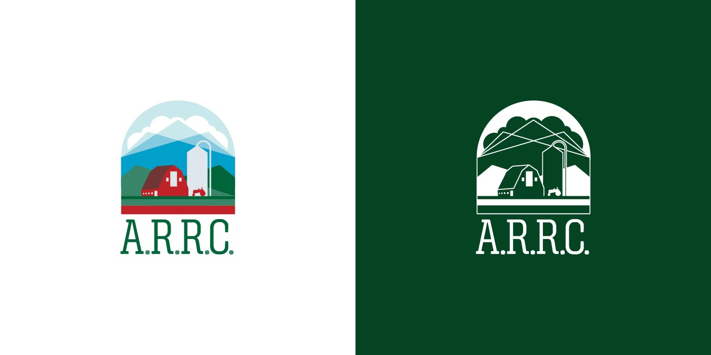Alaska Rural Rehabilitation Corporation (ARRC) logo design