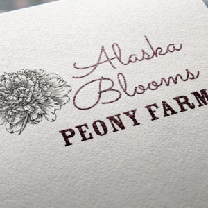 Alaska Blooms Card Mockup