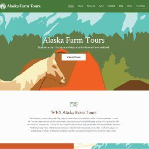 Alaska Farm Tours Booking Site 1