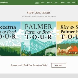 Alaska Farm Tours Booking Site 2