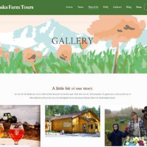 Alaska Farm Tours Booking Site 3