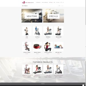 Alaska Fitness Equipment Ecommerce Shop Site 4