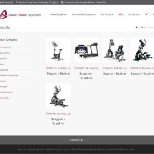 Alaska Fitness Equipment Ecommerce Shop Site 5