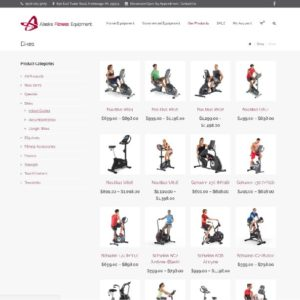 Alaska Fitness Equipment Ecommerce Shop Site 6