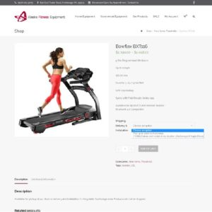 Alaska Fitness Equipment Ecommerce Shop Site 7