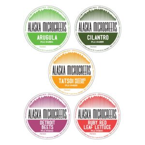 Alaska Microgreens Logo Packaging Design 2