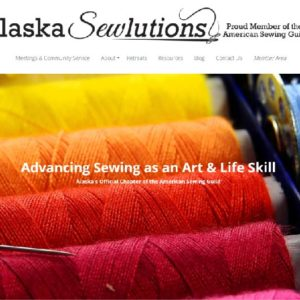 Alaska Sewlutions Website Screenshot 1