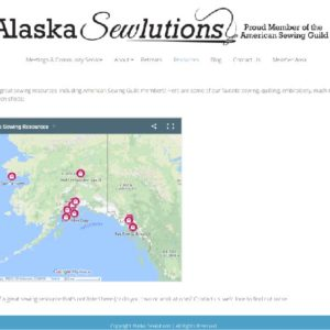 Alaska Sewlutions Website Screenshot 4