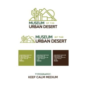 Museum Of The Urban Desert Branding Guide