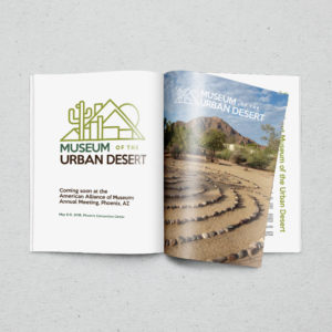 Museum Of The Urban Desert Magazine Mockup