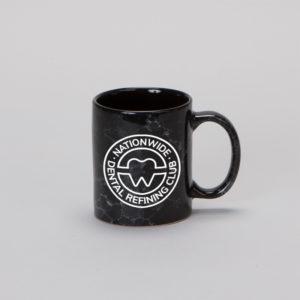 NDRC Black Marbled Mug