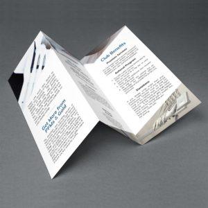 Nationwide Dental Refining Club Brochure Mockup