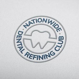 Nationwide Dental Refining Club Embroidery Mockup