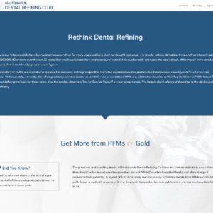 Nationwide Dental Refining Club Website And Logo Design 3
