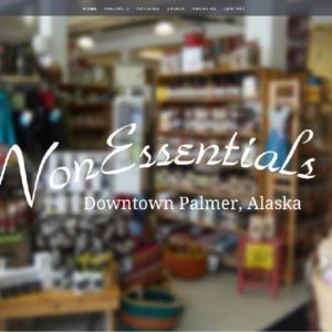 NonEssentials Alaska Website Redesign 1