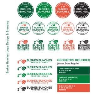 Bushes Bunches Logo And Branding