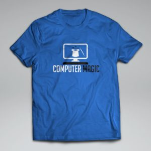 Computer Magic Tee Design
