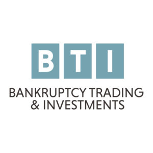 BTI Bankruptcy Trading & Investments Logo Design