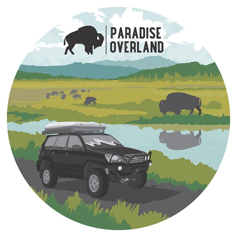 Paradise Overland Illustrations