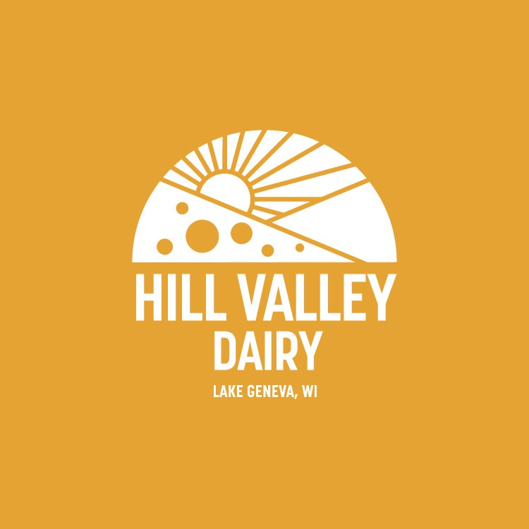 Hill Valley Dairy Logo, Packaging And Website